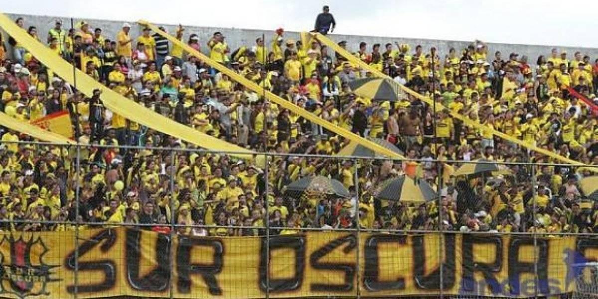 Video de los hinchas de Barcelona SC alentando por última vez antes del accidente Metro Ecuador