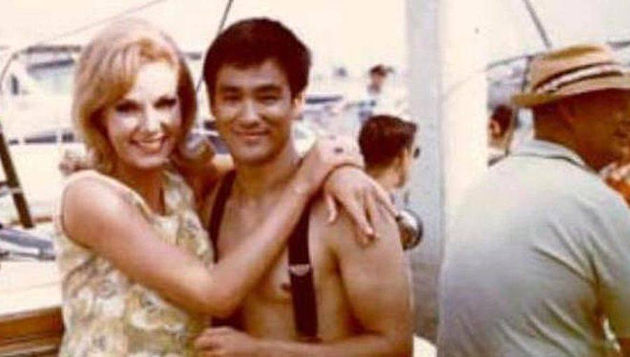 Bruce Lee y Sharon Tate