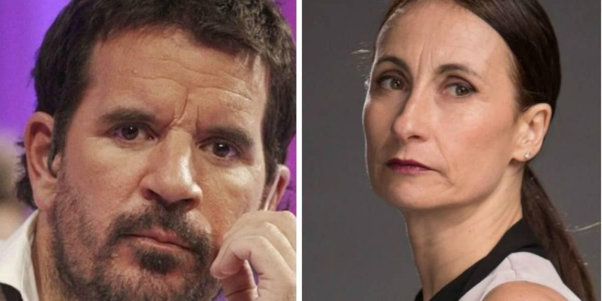 """""""Déjense de odiosidades y resentimientos"""": Vasco Moulián critica a Amparo Noguera por decir """"no a la Paty Maldonado en Mega"""""""