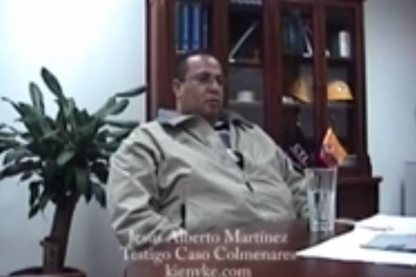 Testigo en el caso Colmenares