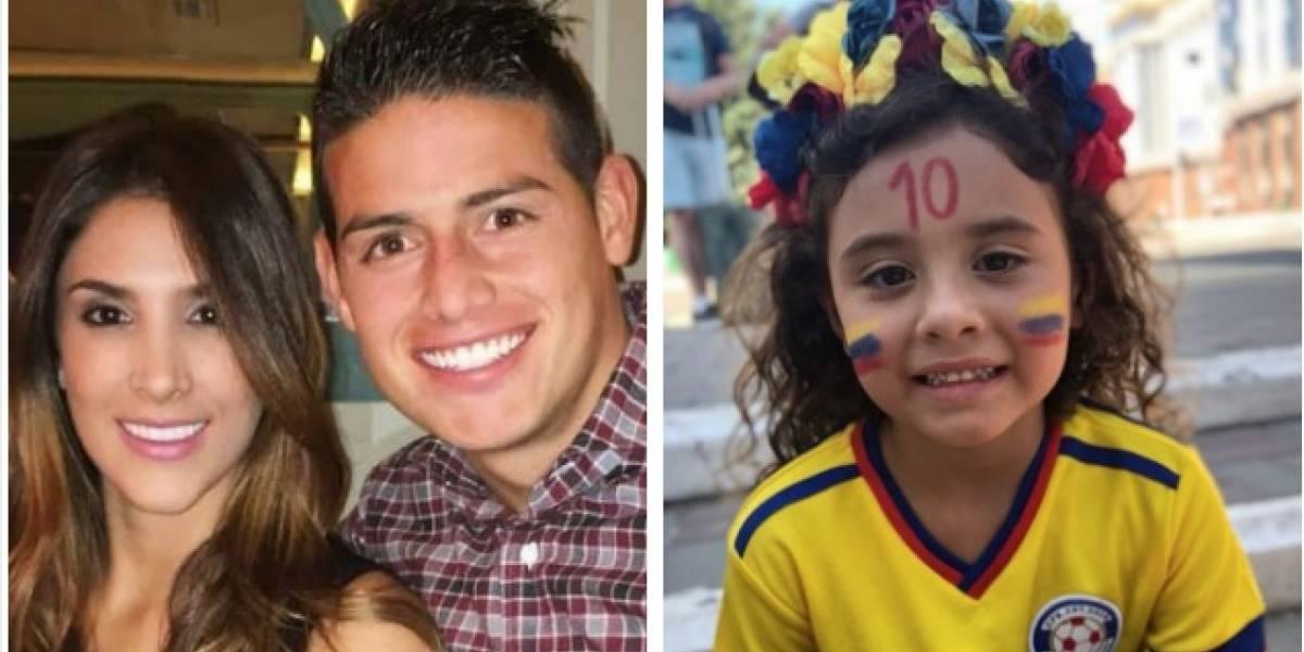 Este es el lujoso colegio de Salomé, hija de James Rodríguez y Daniela Ospina
