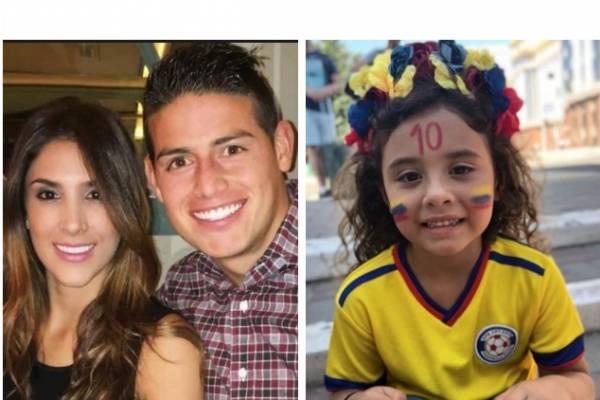 Hija de Daniela y James