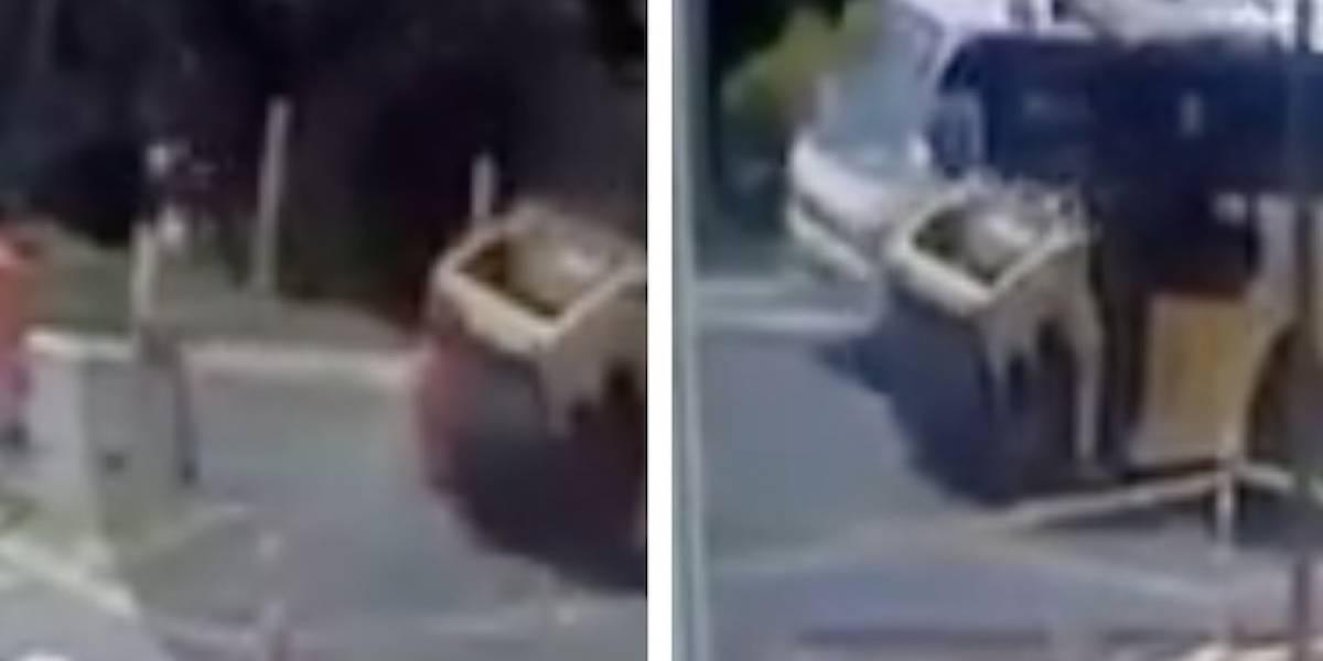 Video: operario muere arrollado por una aplanadora en La Calera