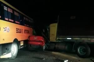 Accidente de tránsito en Santo Domingo