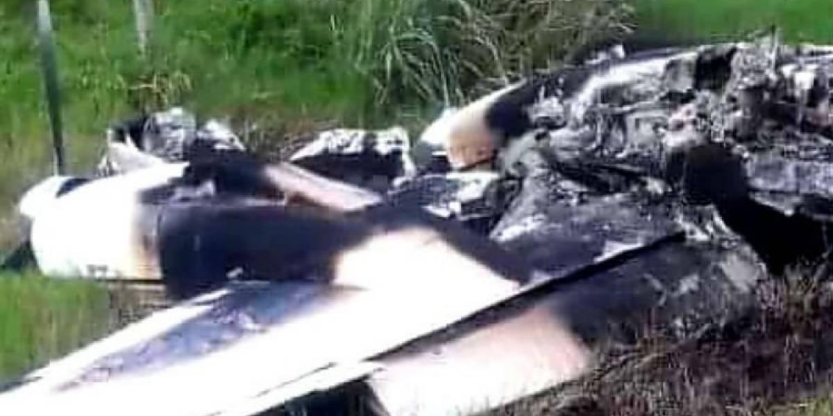 Cae avioneta en la frontera entre México y Belice; la encuentran calcinada