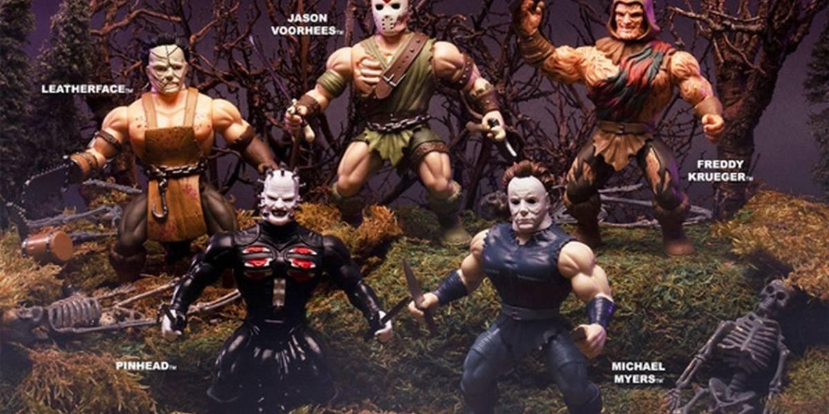 Funko combina a iconos del terror con figuras de He-Man en su línea Savage World
