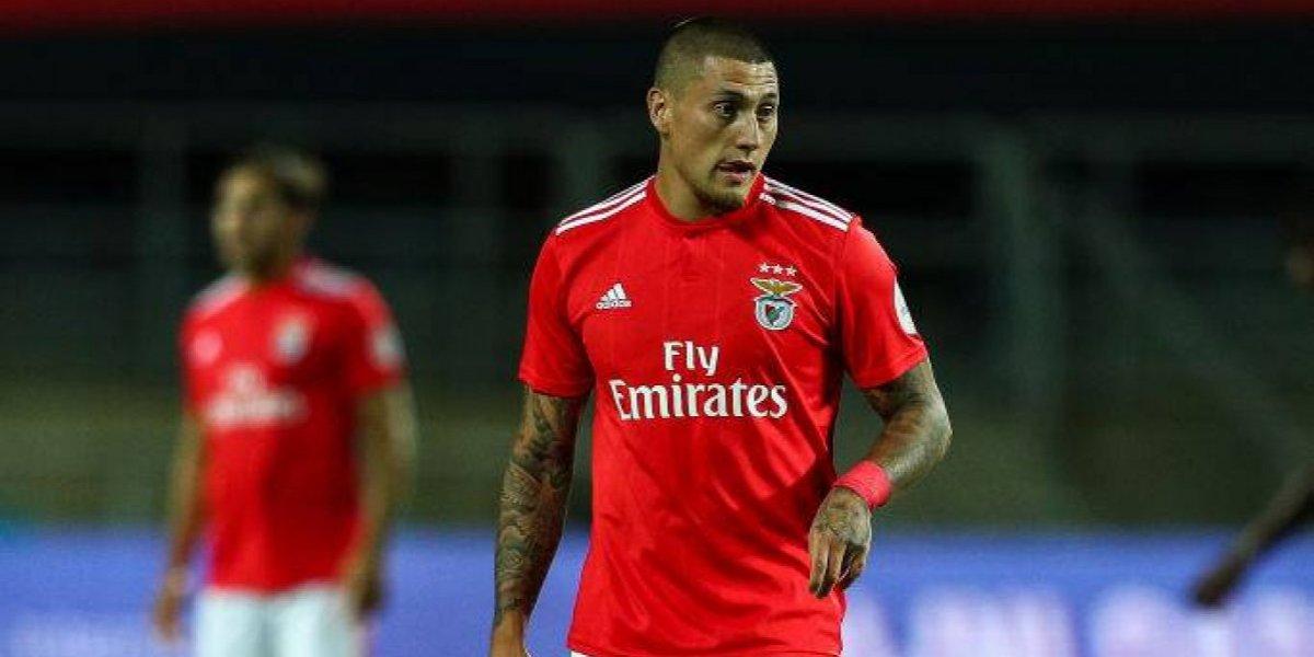 Otra vez fuera: Nicolás Castillo no fue citado por lesión para el próximo duelo del Benfica