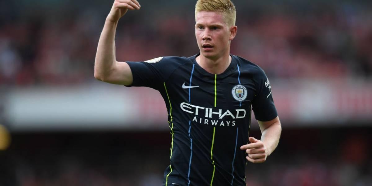 Manchester City sufre al perder por lesión a Kevin De Bruyne por tres meses