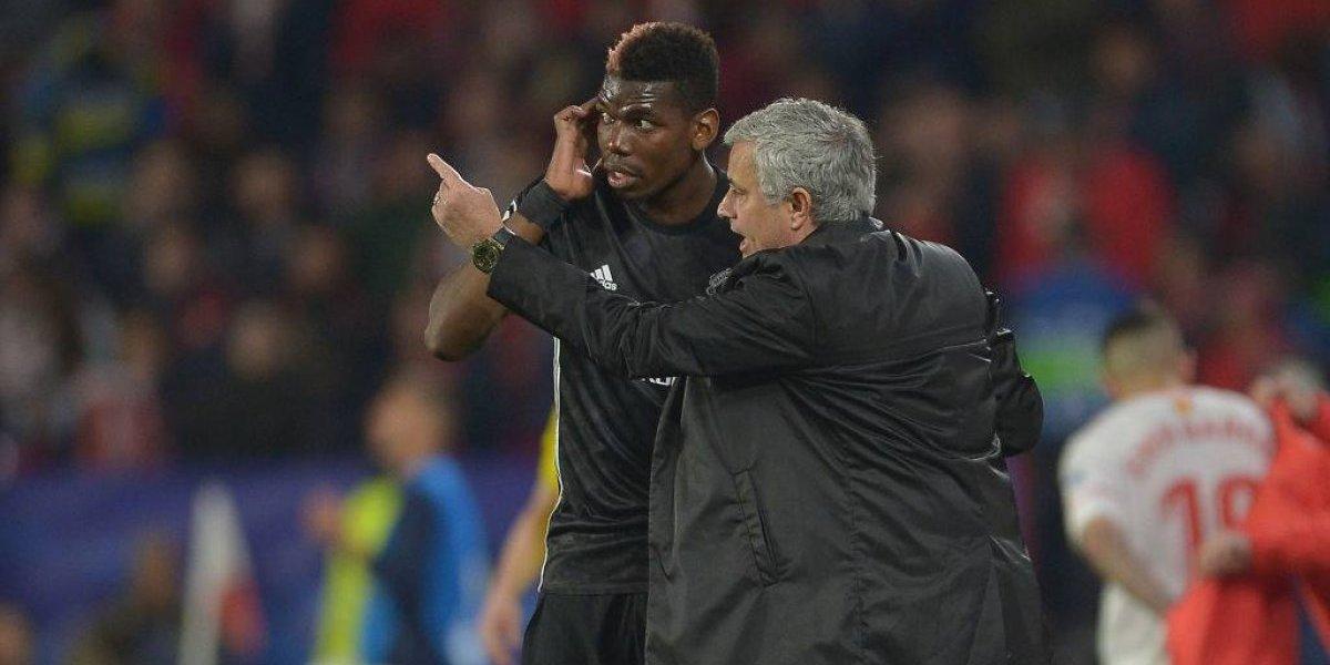 """Mourinho le hace un """"cariñito"""" a Pogba para que se quede: """"Nunca estuve tan feliz con él como lo estoy ahora"""""""