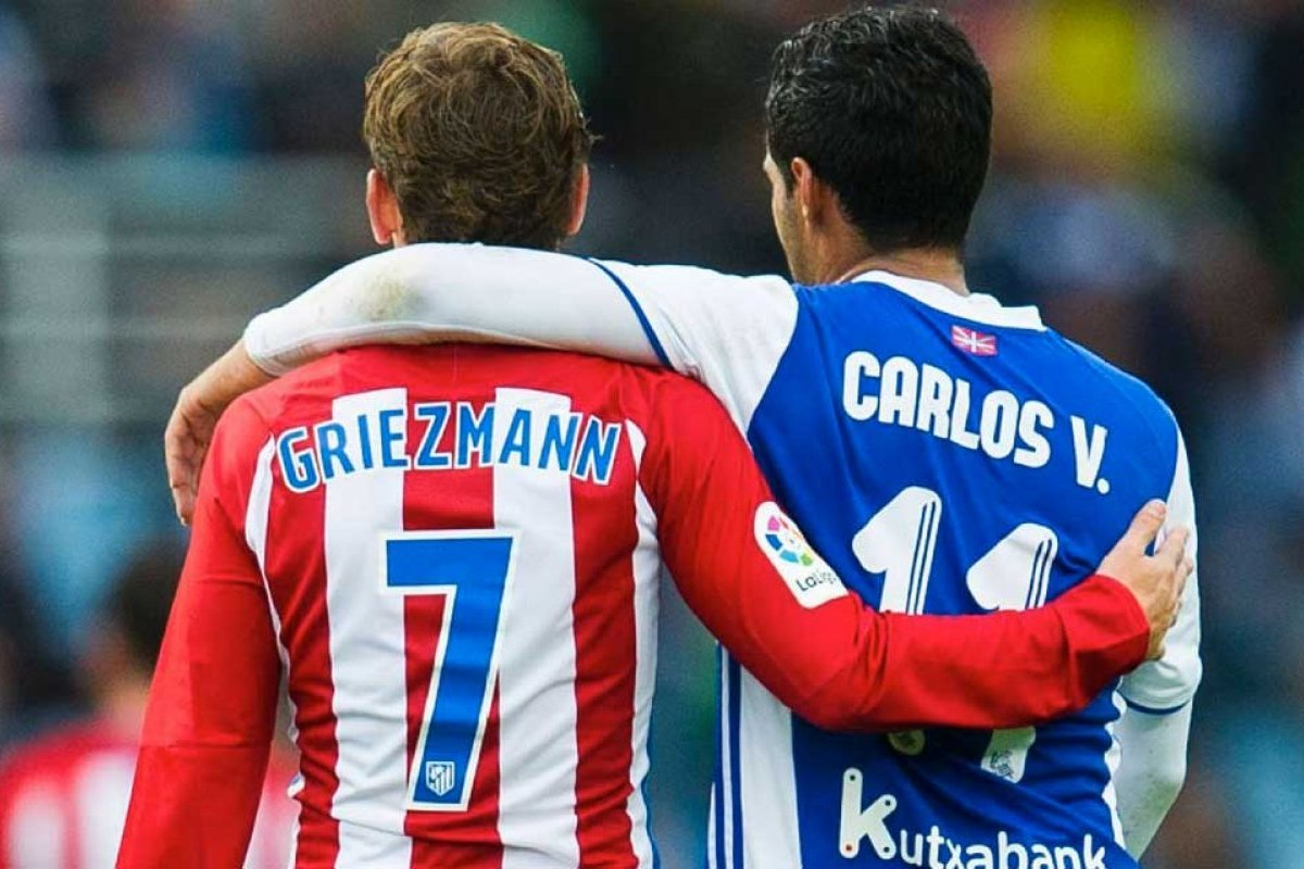 Antoine Griezmann sends controversial message to Carlos Vela