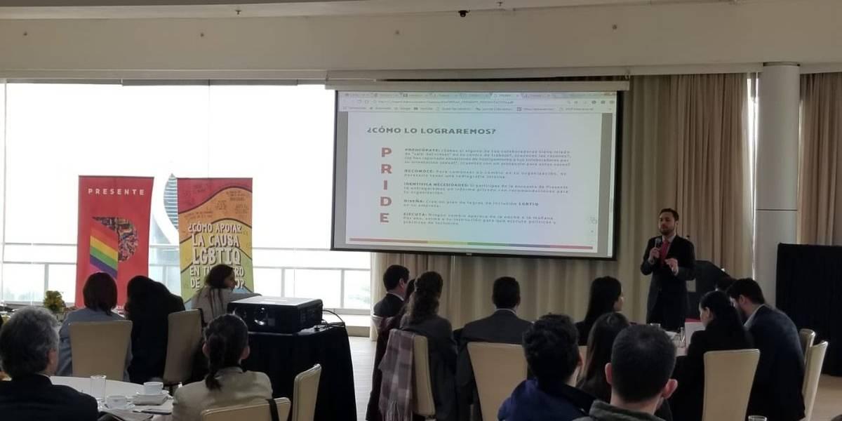 Modelo de inclusión laboral de diversidad sexual y género de Chile es llevado a Perú y Argentina