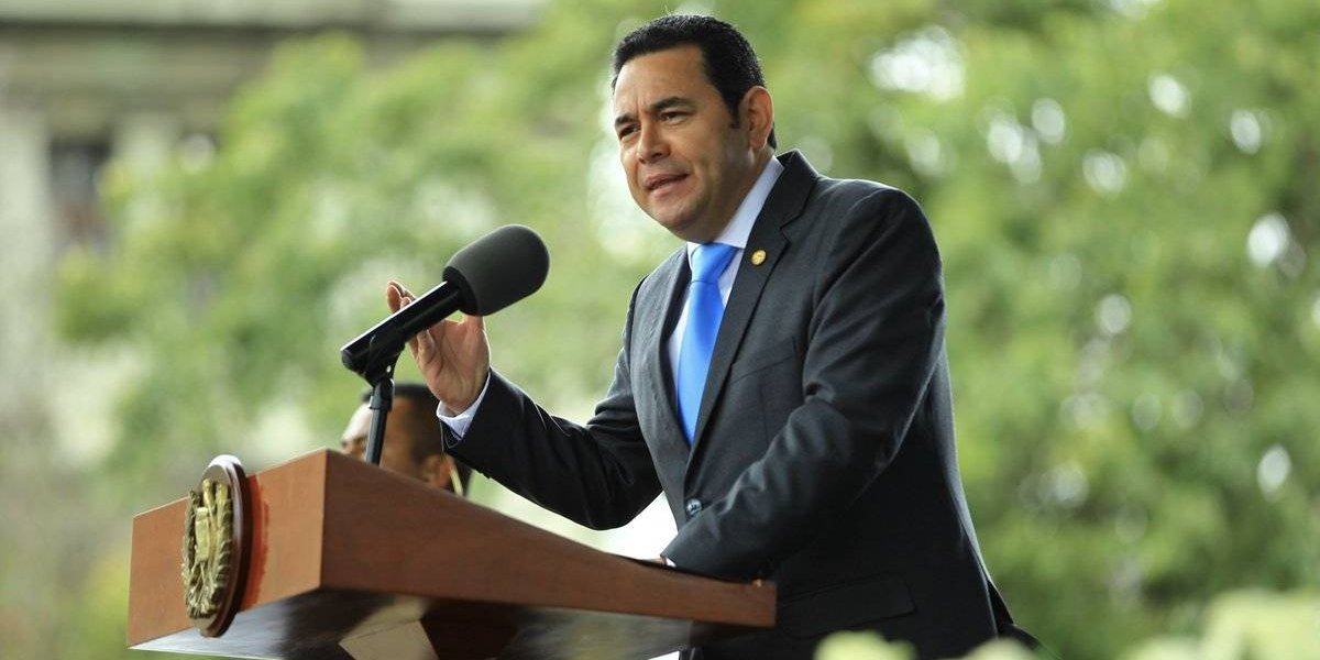 Congreso conocerá este martes el antejuicio contra el presidente Jimmy Morales
