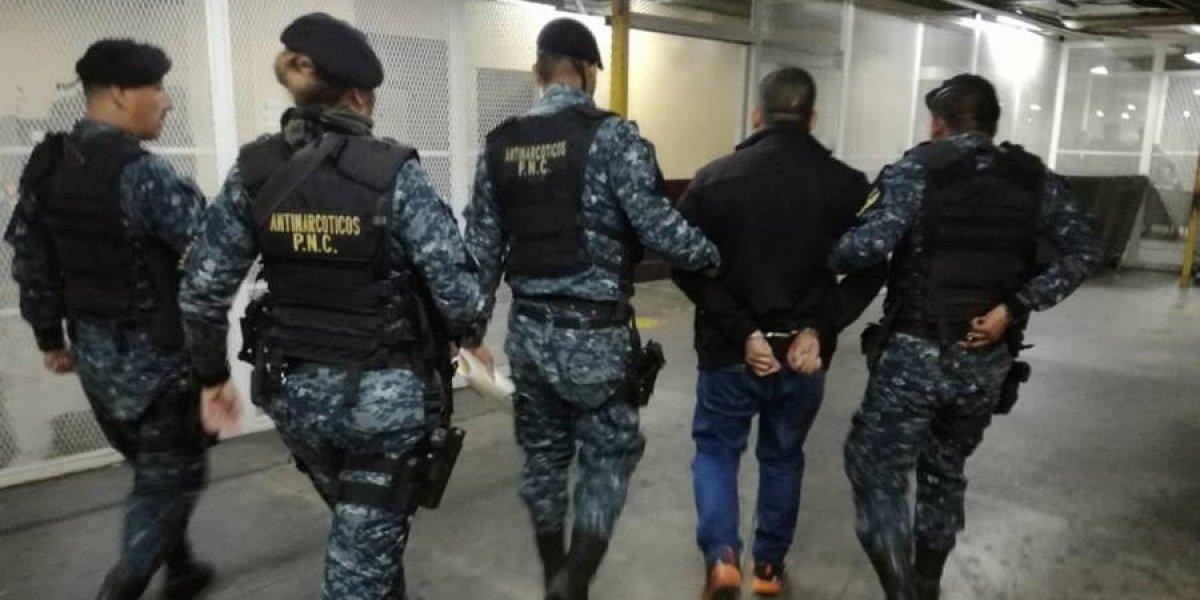 Capturan a narco guatemalteco pedido en extradición por EE. UU.