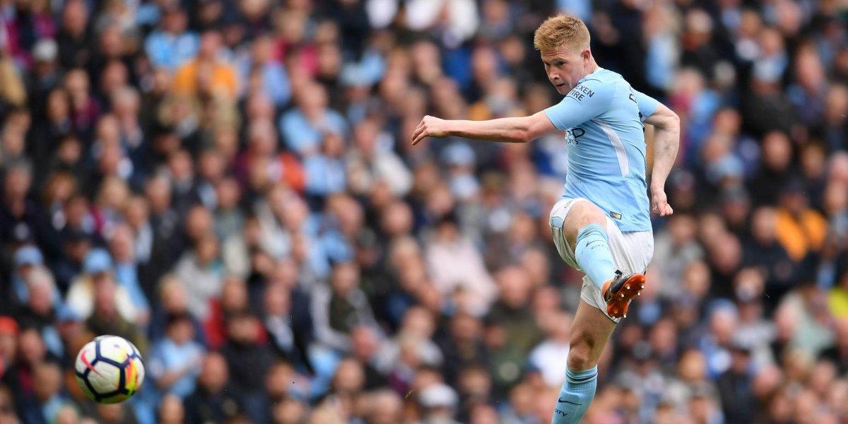 Manchester City pierde a Kevin De Bruyne por lesión