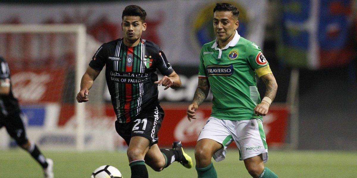 Audax Italiano remontó ante Palestino para escapar de la parte baja del Campeonato Nacional