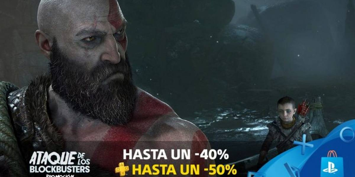 PlayStation Store tiene descuentos en God of War, Call of Duty, Battlefield 1 y más