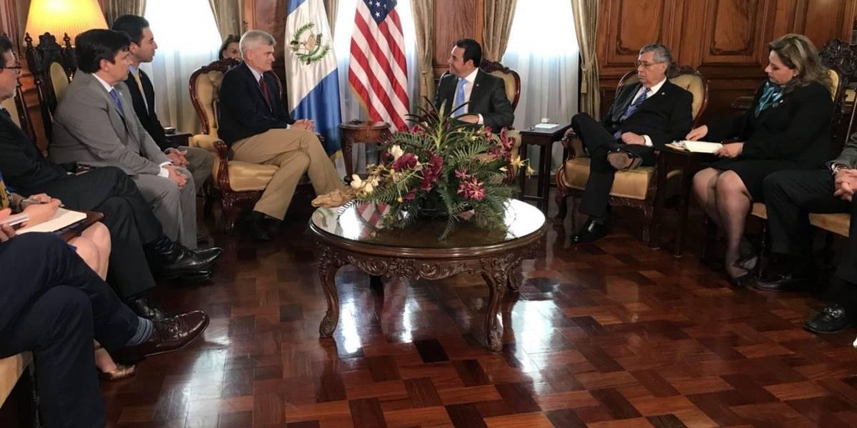 Presidente Morales y congresistas de EE. UU. Dialogan sobre el combate al narcotráfico