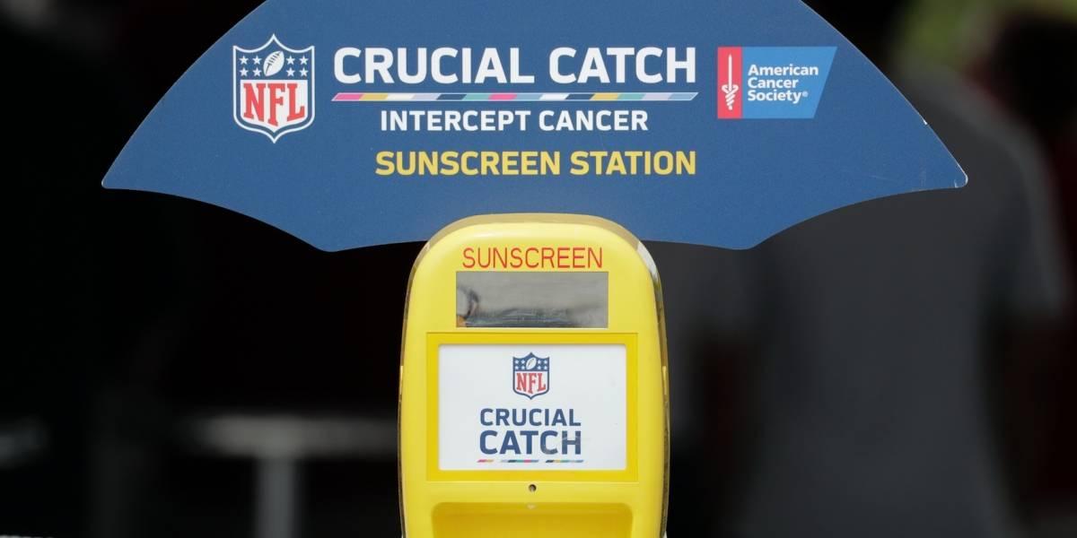 Proteger la piel es otra misión en campamentos de NFL