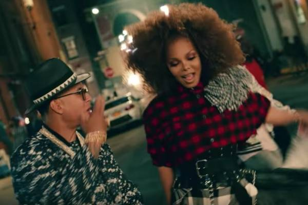 "Janet Jackson estrena video de ""Made for now"" con Daddy Yankee"