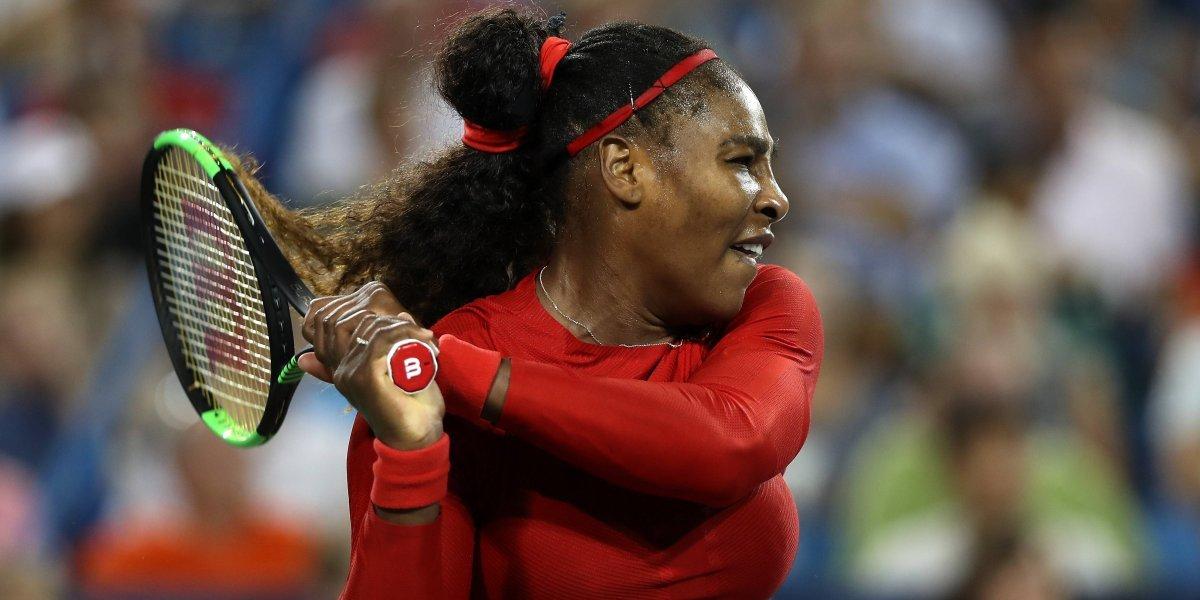 Serena Williams vivió un calvarioen el torneo de San José