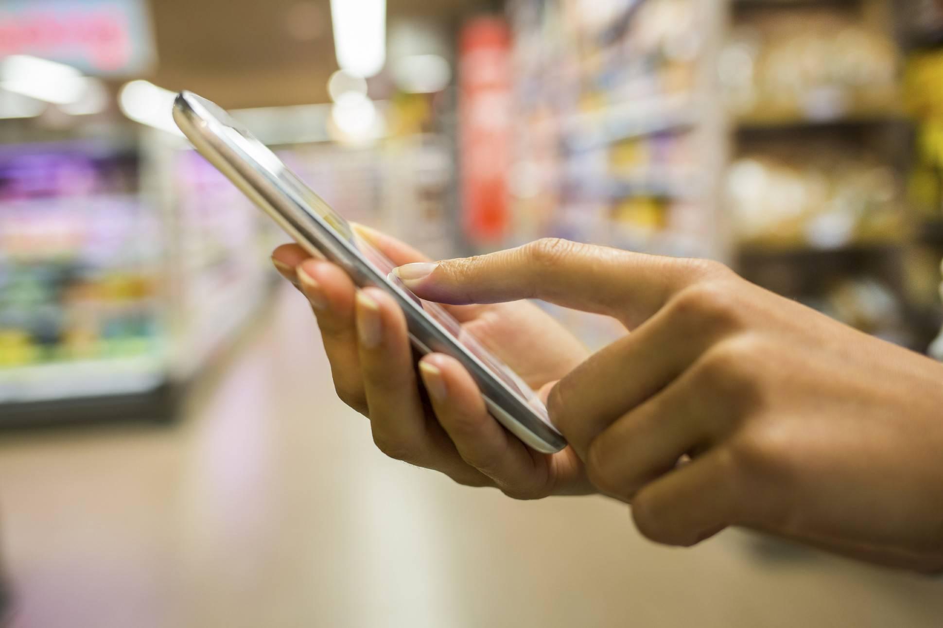 Supermercado chileno ahora permite pagar a través del smartphone