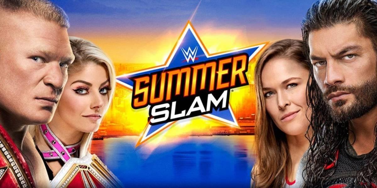 ¿Cuándo, a qué hora, cartelera y quién transmite Summerslam de WWE?
