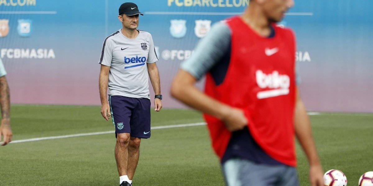 """Valverde quiere un Vidal al 100% en el Barça: """"Estuvo cuatro meses sin jugar, se tiene que poner bien"""""""