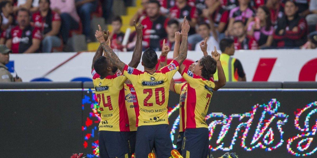 Morelia va al Jalisco y derrota al Atlas