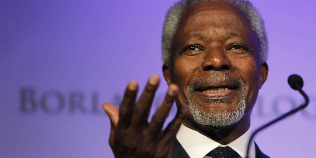 ¿Quién era Kofi Annan?