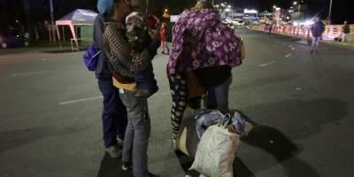 Poca afluencia de venezolanos en el puente de Rumichaca