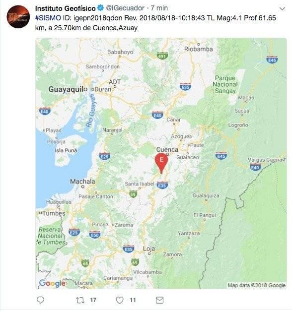 sismo de 4.1
