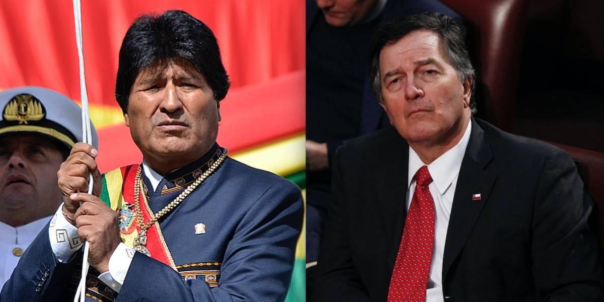"""Canciller Ampuero responde con todo a Evo Morales: """"Su lenguaje inflamatorio sólo está al servicio de su aspiración a ser reelecto"""""""