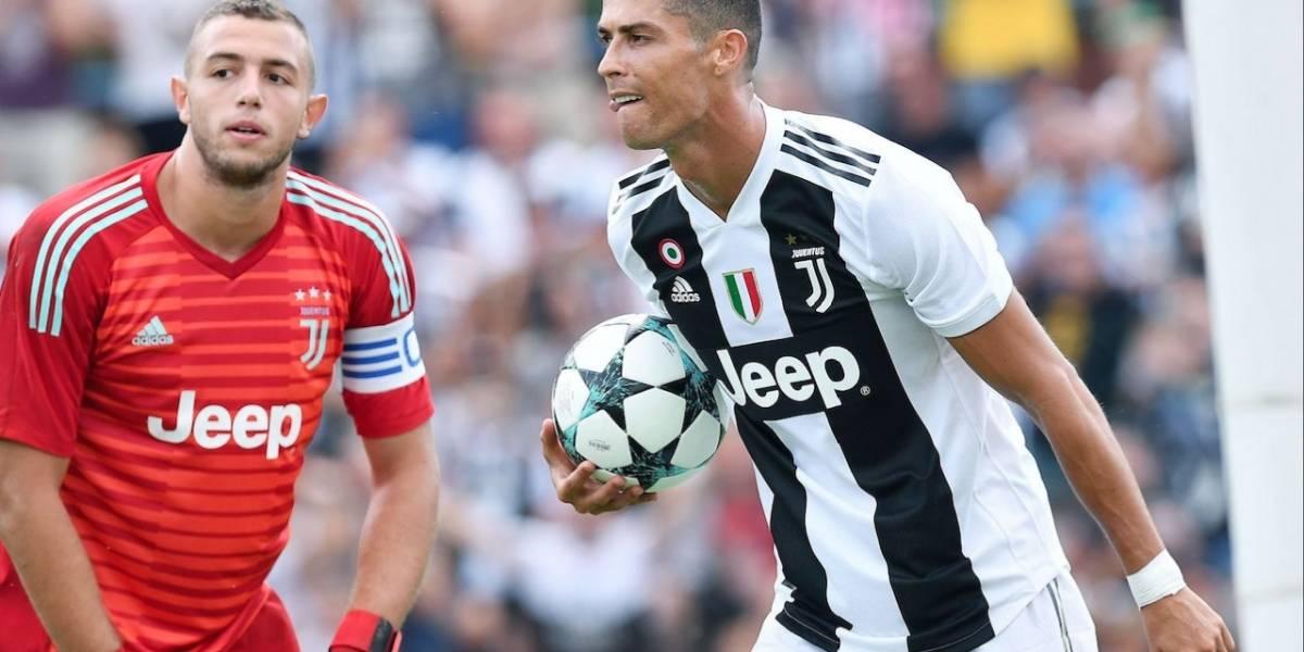 ¡Lo que todos esperaban! Cristiano Ronaldo debuta con Juventus frente a Chievo Verona