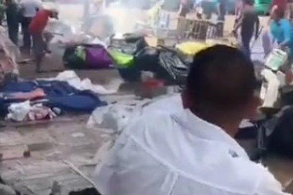 Violencia contra refugiados