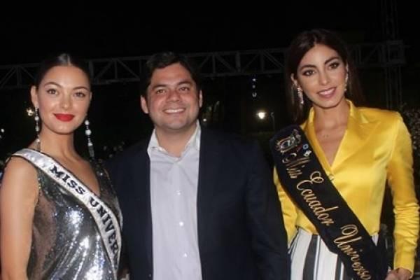 Virginia Limongi, Miss Ecuador, protagoniza divertido video con la Miss Universo