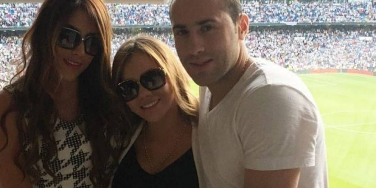 El lindo gesto de la esposa de Ospina con Daniela