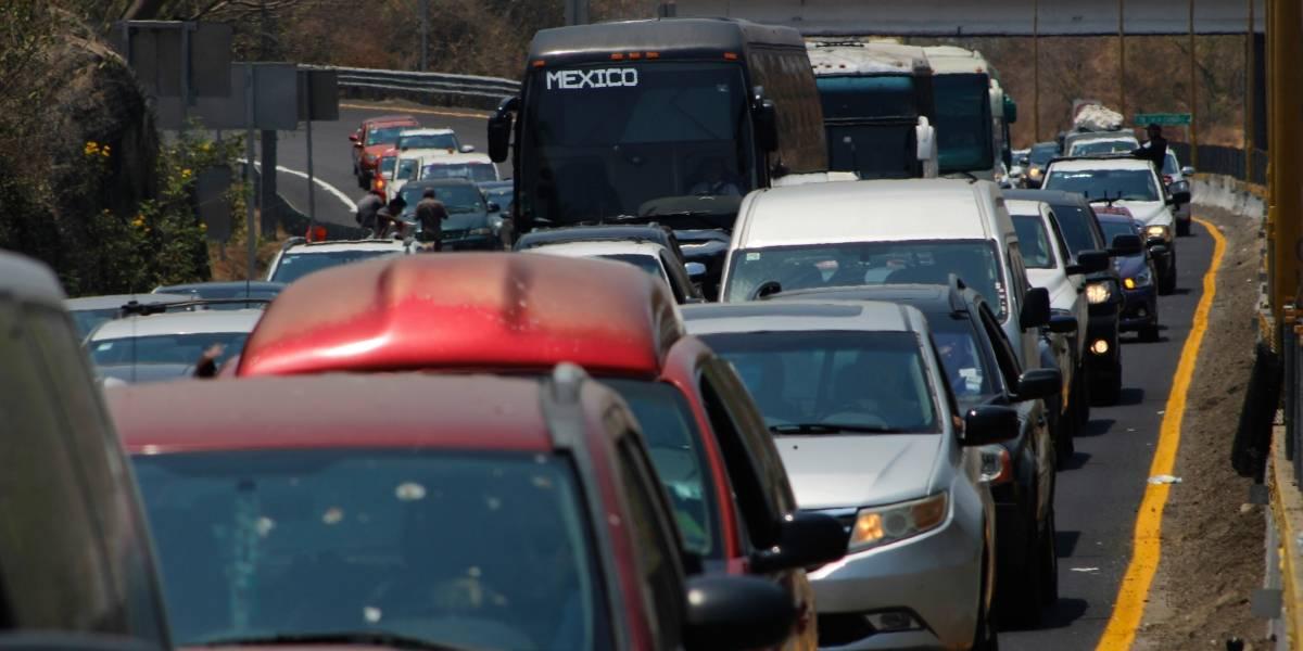¿Qué tan saturadas están las carreteras por el regreso a clases?