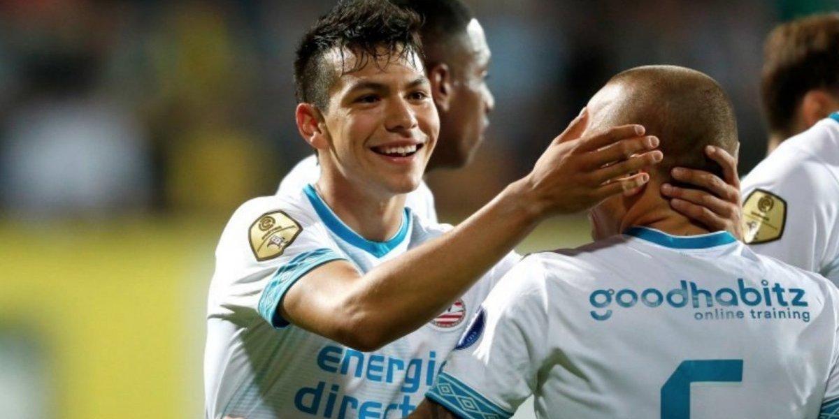 Chucky Lozano anota su segundo gol en la victoria del PSV