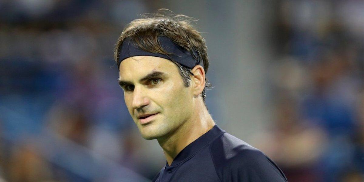 VIDEO: Roger Federer estalla contra árbitro en pleno partido