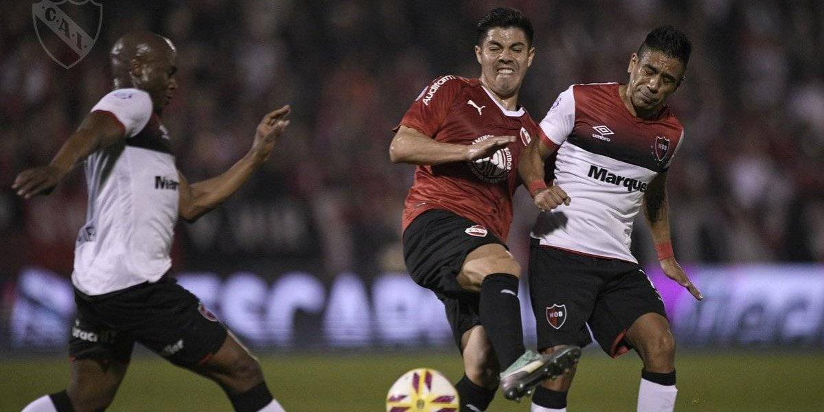 Independiente del Gato y el Tucu no pudo con Newell's en la Superliga argentina