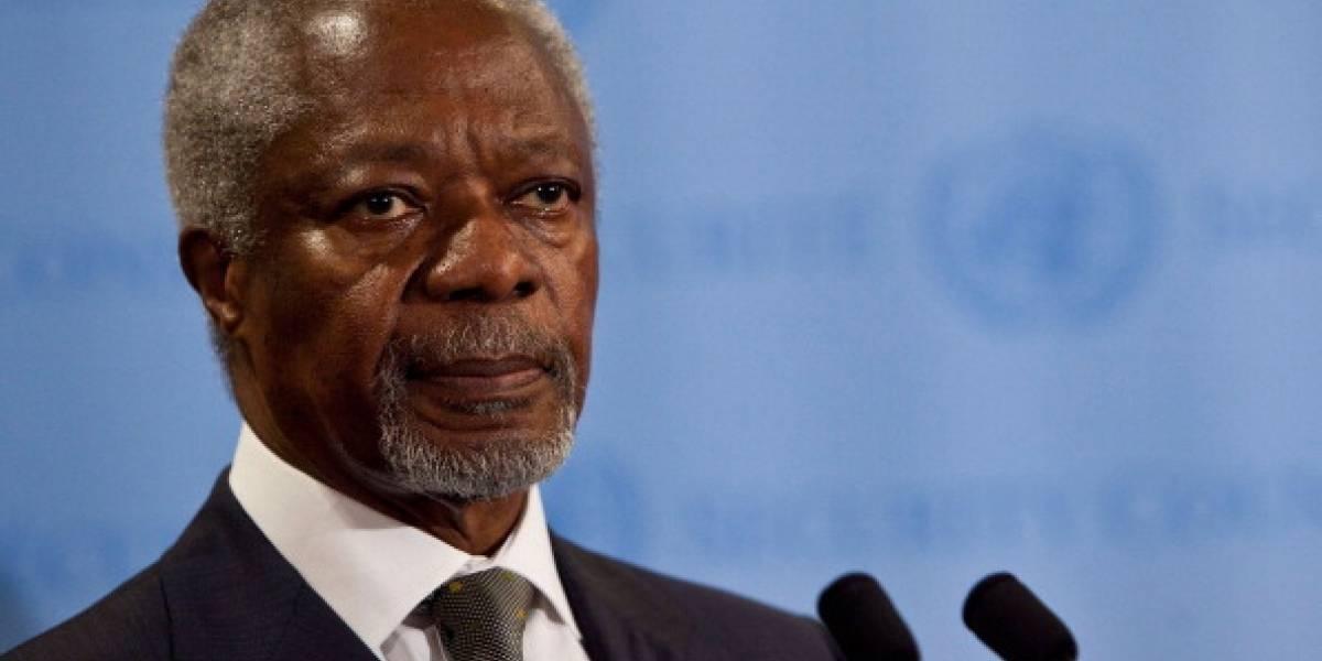 Muere Kofi Annan, Nobel de la Paz y exsecretario de la ONU