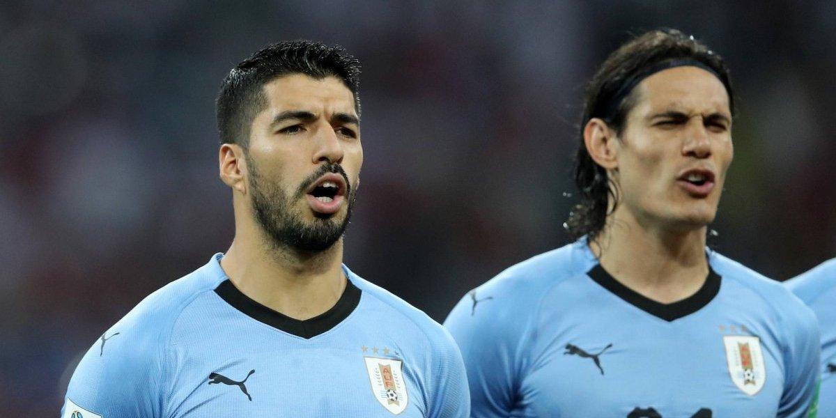 Suárez y Cavani, convocados para el amistoso contra México