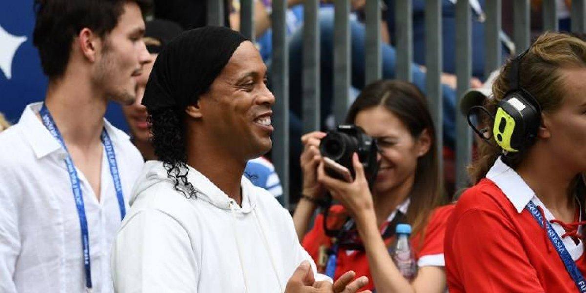 Hijo de Ronaldinho heredó su talento y está cerca de firmar su primer contrato