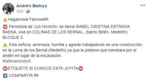 usted no sabe quién soy yo Medellín