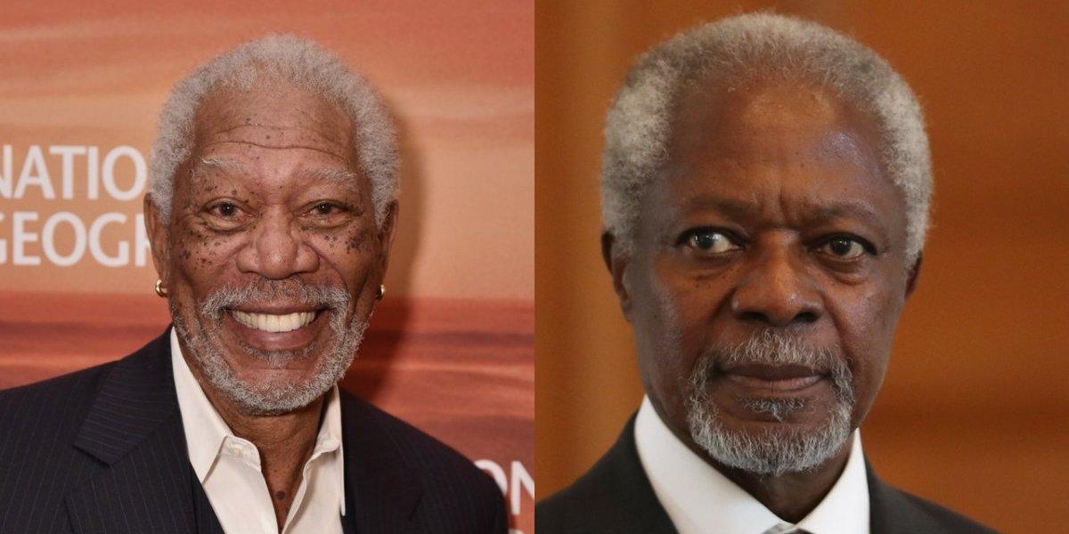 El día en que confundieron a Kofi Annan con Morgan Freeman
