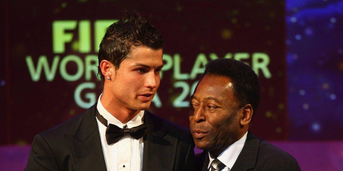 Pelé desea suerte a CR7 en su debut oficial con el Juventus