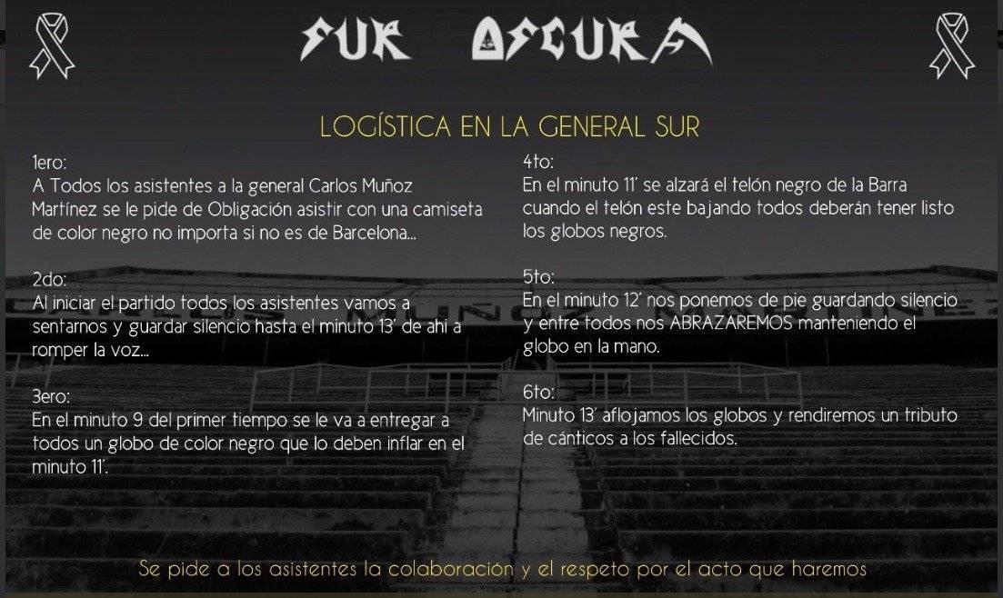 Twiter Sur Oscura Leal @SurOscura_EC