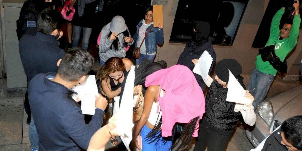 Rescatan a mujeres víctimas de trata en la Del Valle