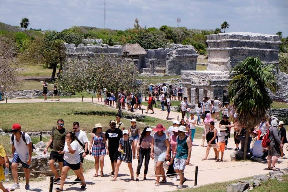 Tulum será una de las paradas del Tren Maya Foto: Cuartoscuro