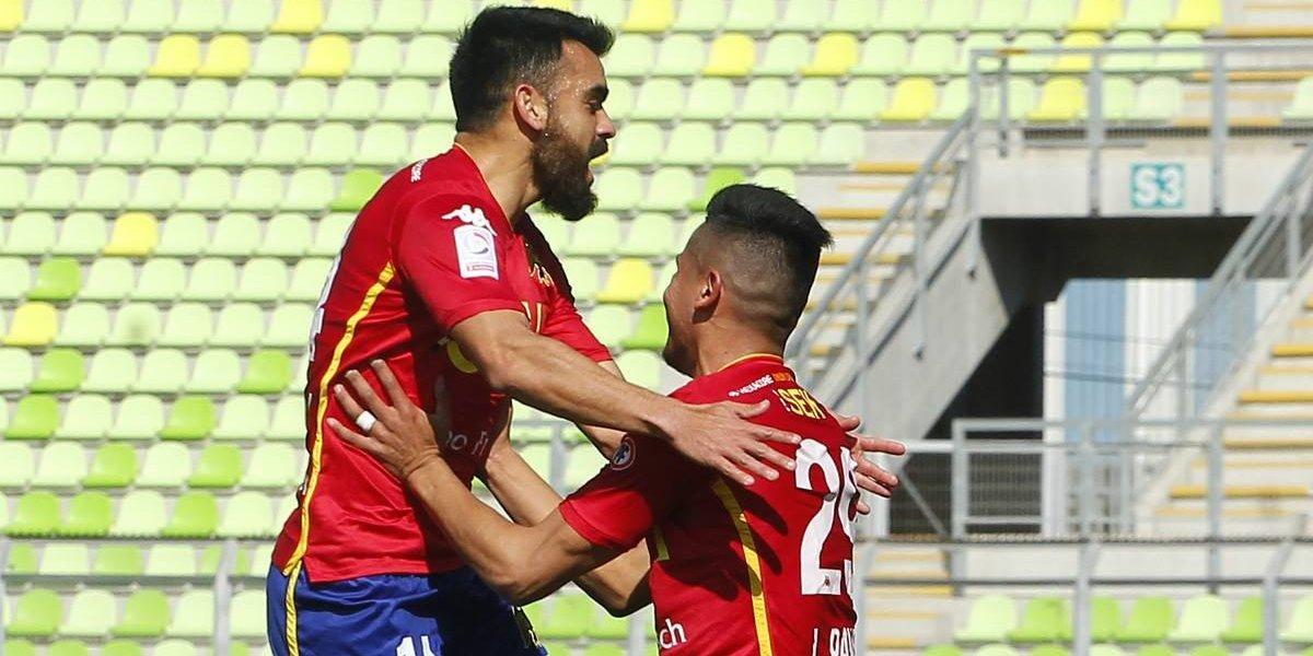 Unión Española levantó cabeza y derrotó a un San Luis que parece condenado al descenso